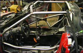 C6 Chassis and Cage